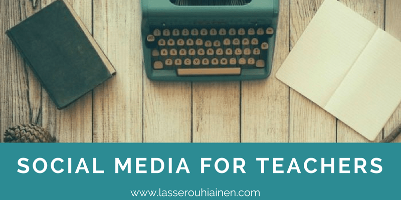 social media for teachers