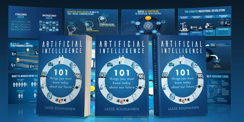 101 Artificial Intelligence Book by Lasse Rouhiainen