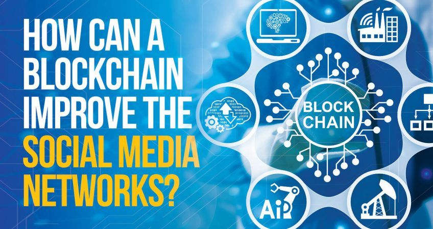 How can a blockchain improve the social networks